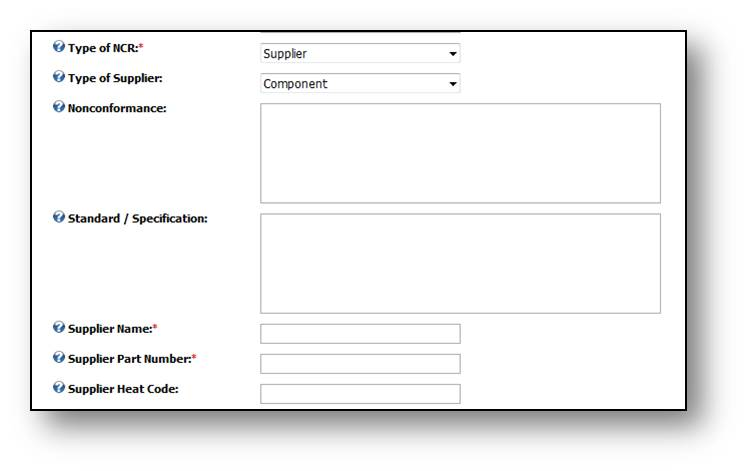 ncr report template sample non conformance report template 12 free