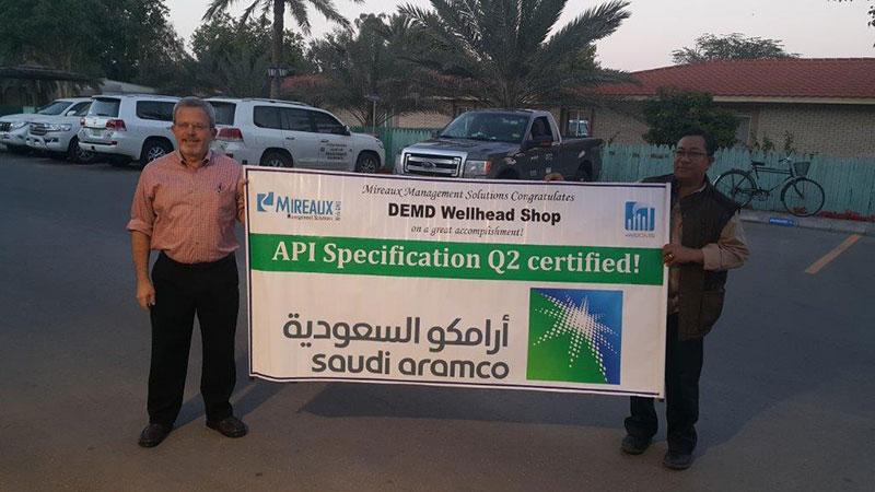 Aramco API Specification Q2 Certification