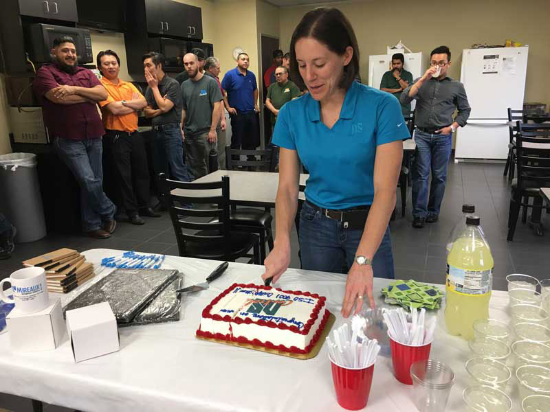 NS Control Team Celebration