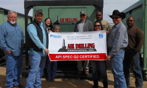 Mireauxms provides AIR Drilling API Spec Q2 Certification
