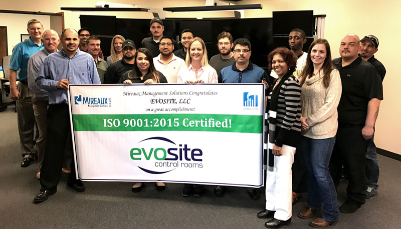 Mireaux Provided EvoSite with ISO 9001 Consulting Services