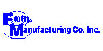 Faith Manufacturing Company Logo