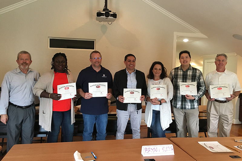 Mireaux API Q2 Training Course Students with Certificates