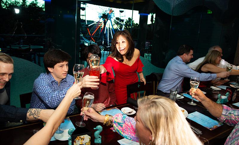 Mireaux Party Scenes