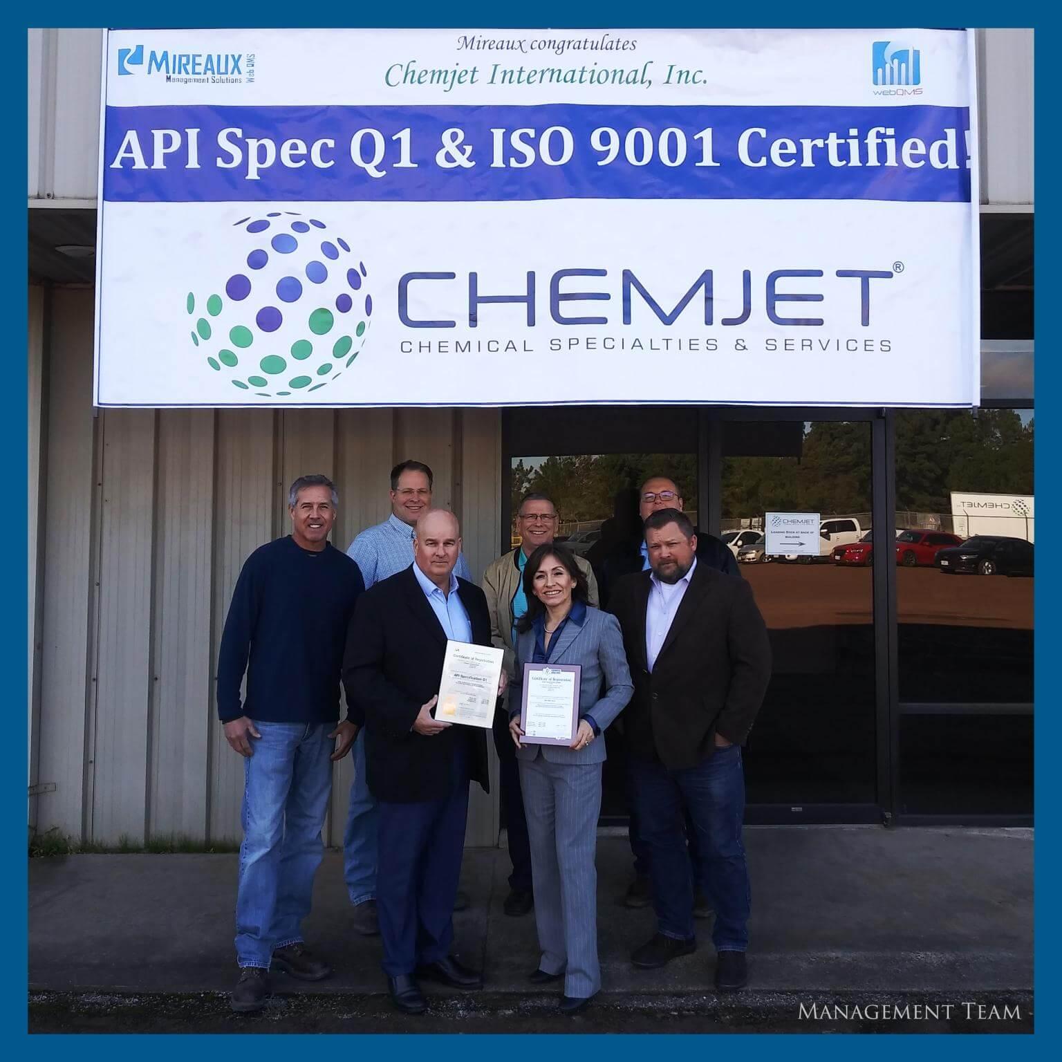 Chemjet Management with Mireaux