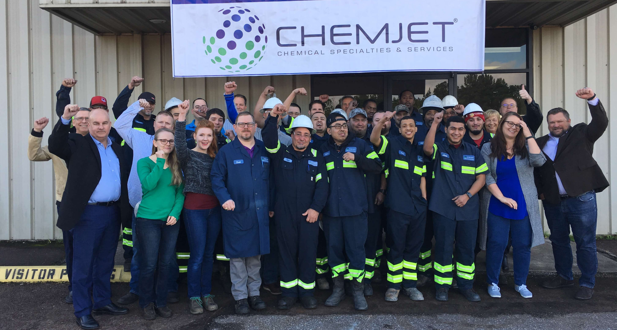 The Chemjet team at their Conroe plant